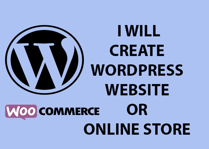 I will create for you fast and professional wordpress website in short time