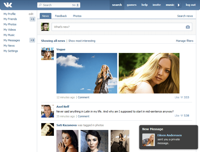Write and Publish Post Russian Social blog on VK. com