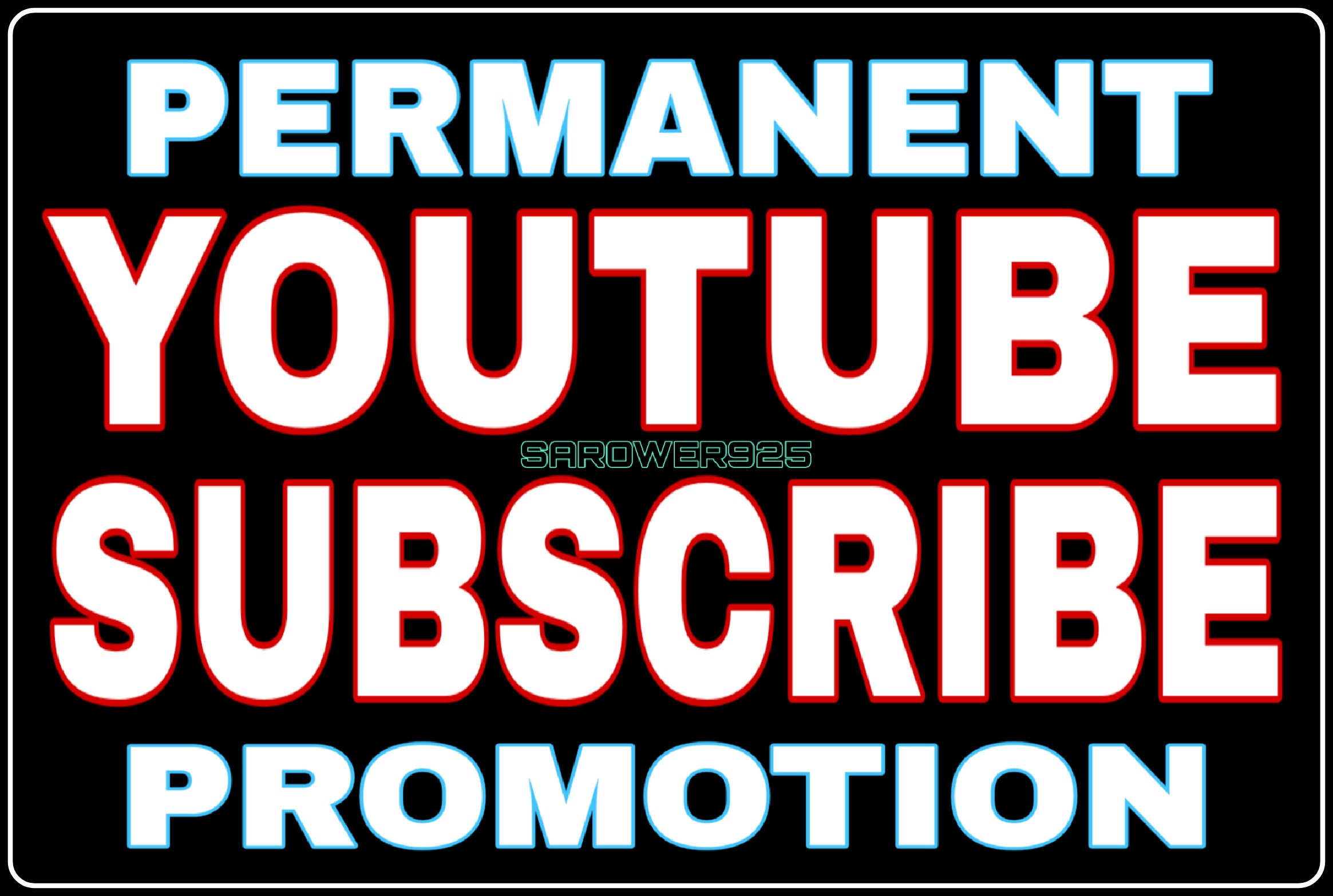 Youtube promotion High Quality,  Non-drop,  Real & Permanent Guarantee