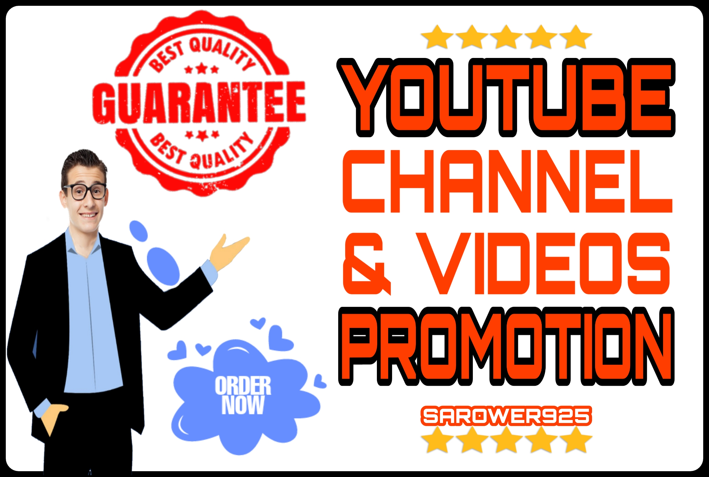 High Quality youtube videos promotion & marketing