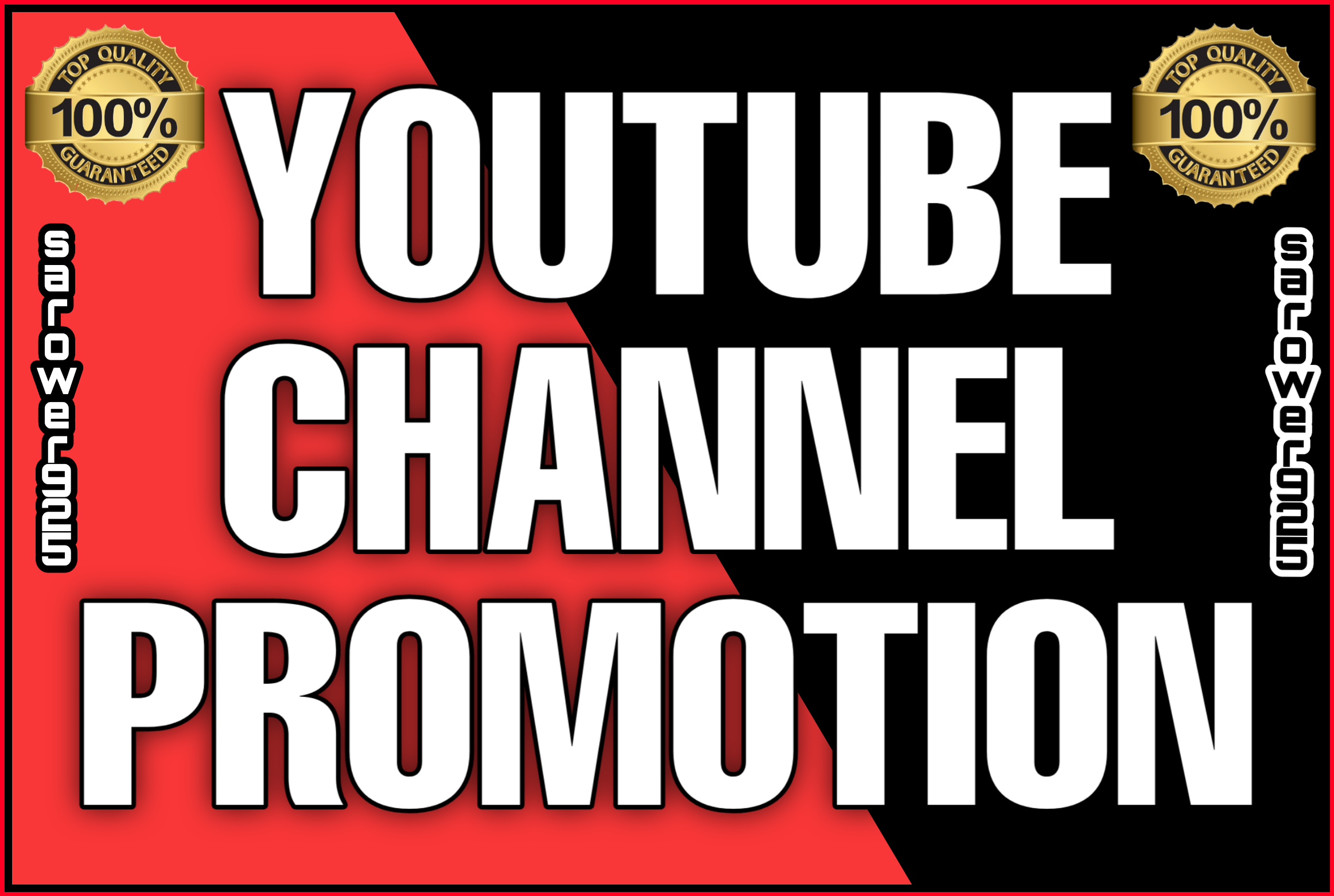 Best Quality youtube promotion by real and active users