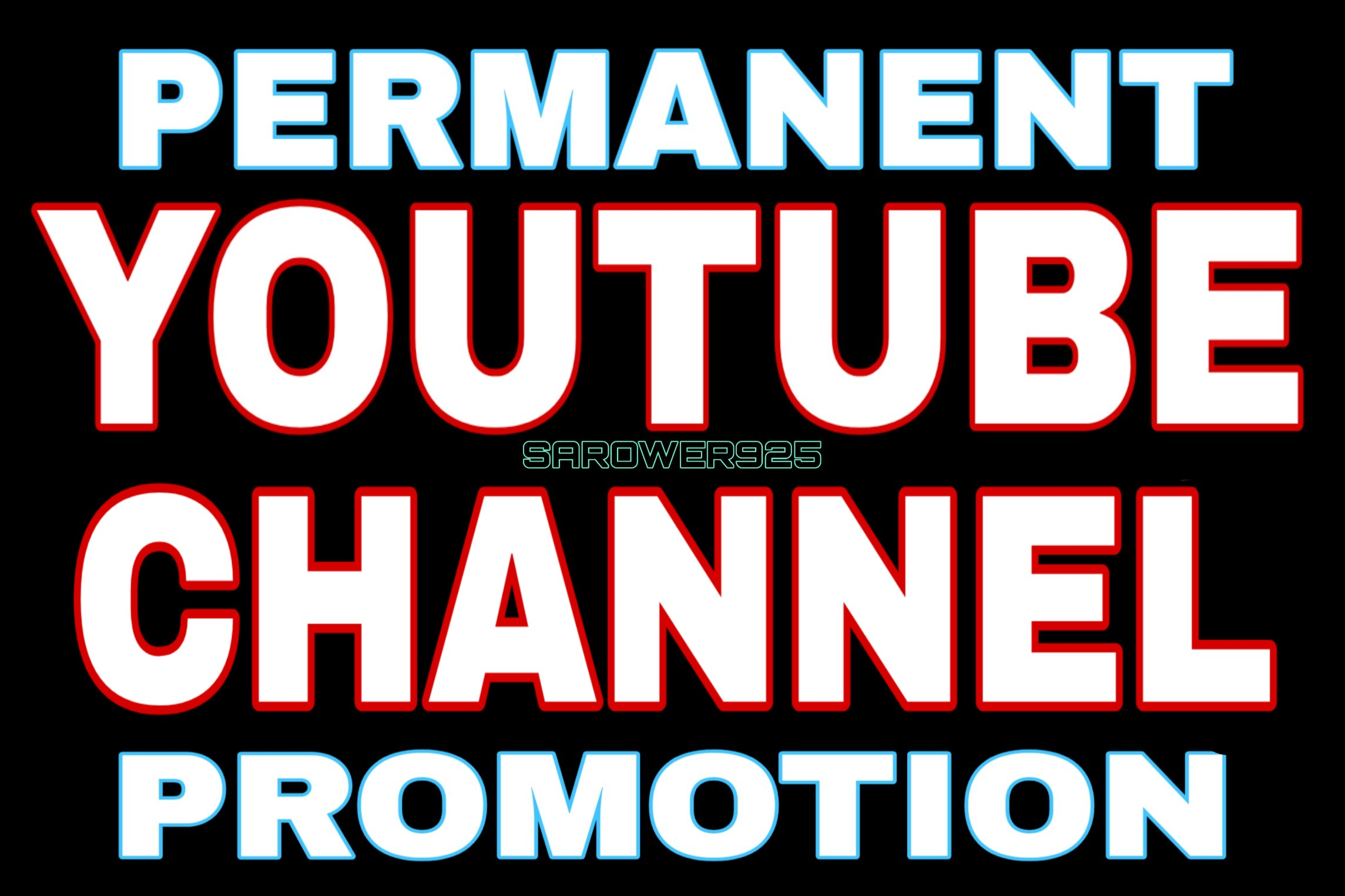 Permanent & real youtube promotion by manual guarantee
