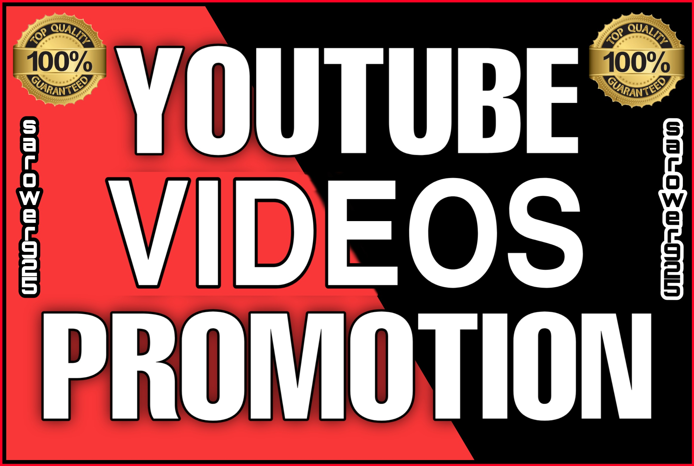 High quality permanent youtube videos promotion & marketing