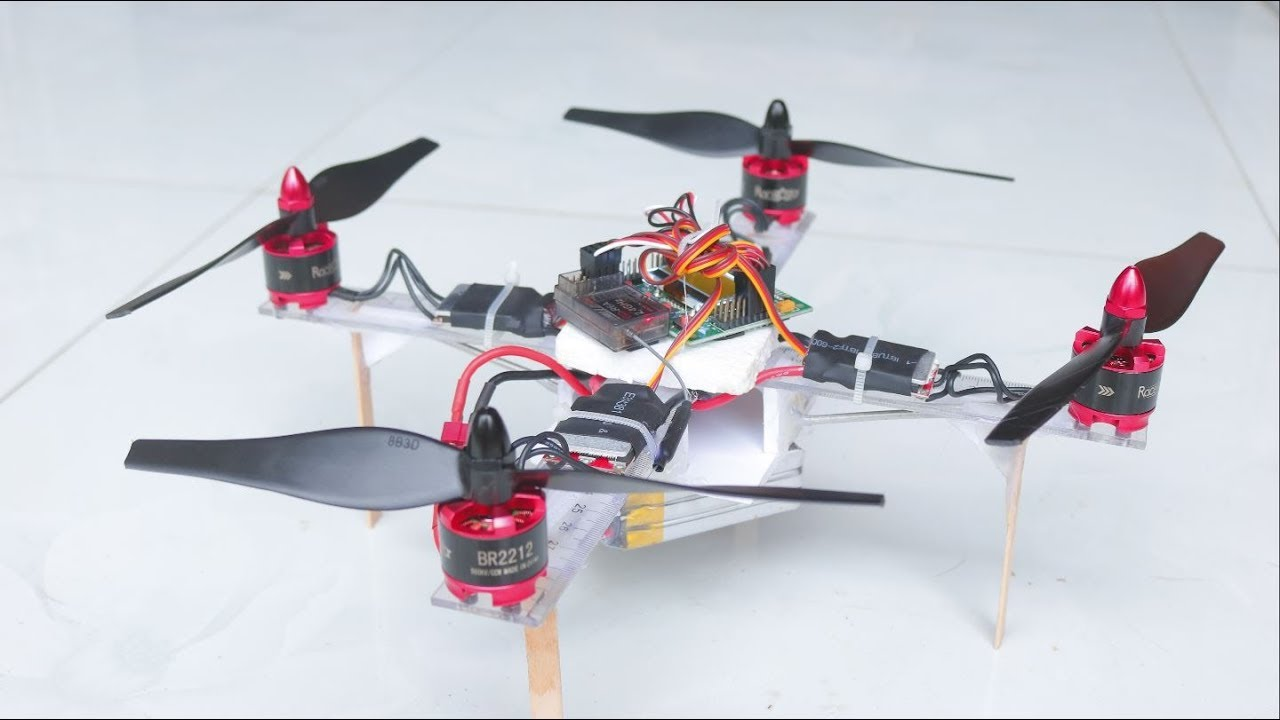 Teach you How to build a DRONE - Construct your drone from scratch