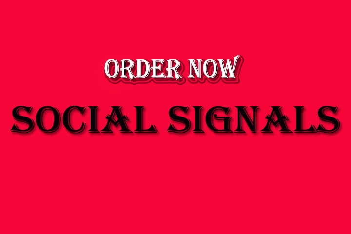 8000 High Quality Social Signals Only