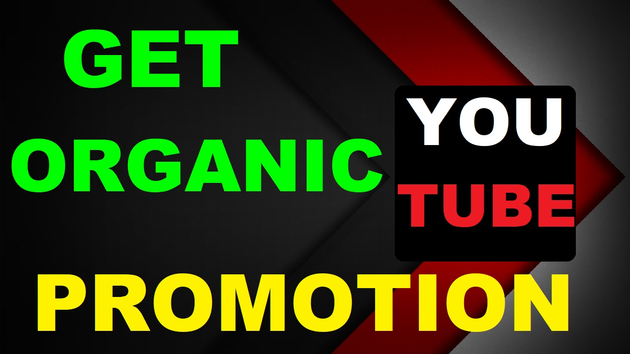 Get Best Organic YouTube Promotion Pakege To Grow Up Your Business