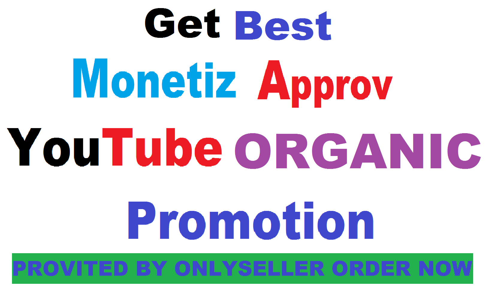 Get Best Organic Real youtube Promotion Guaranted Fast Delivery