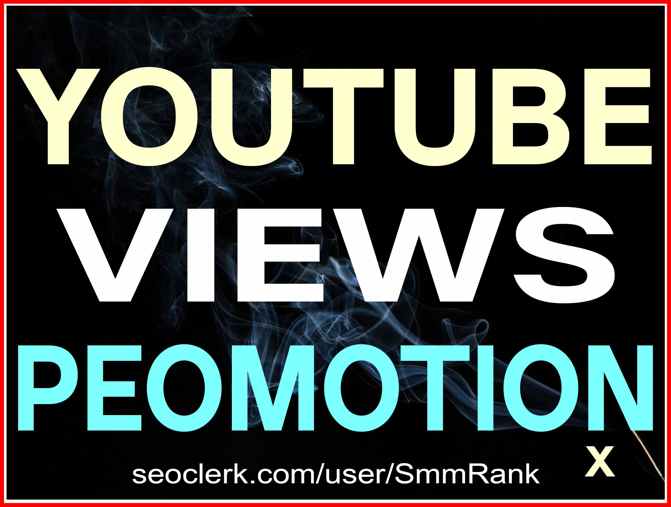 YOUTUBE VIDEO PROMOTION HIGH QUALITY SUPER FAST WITH NON DROP GUARANTEED