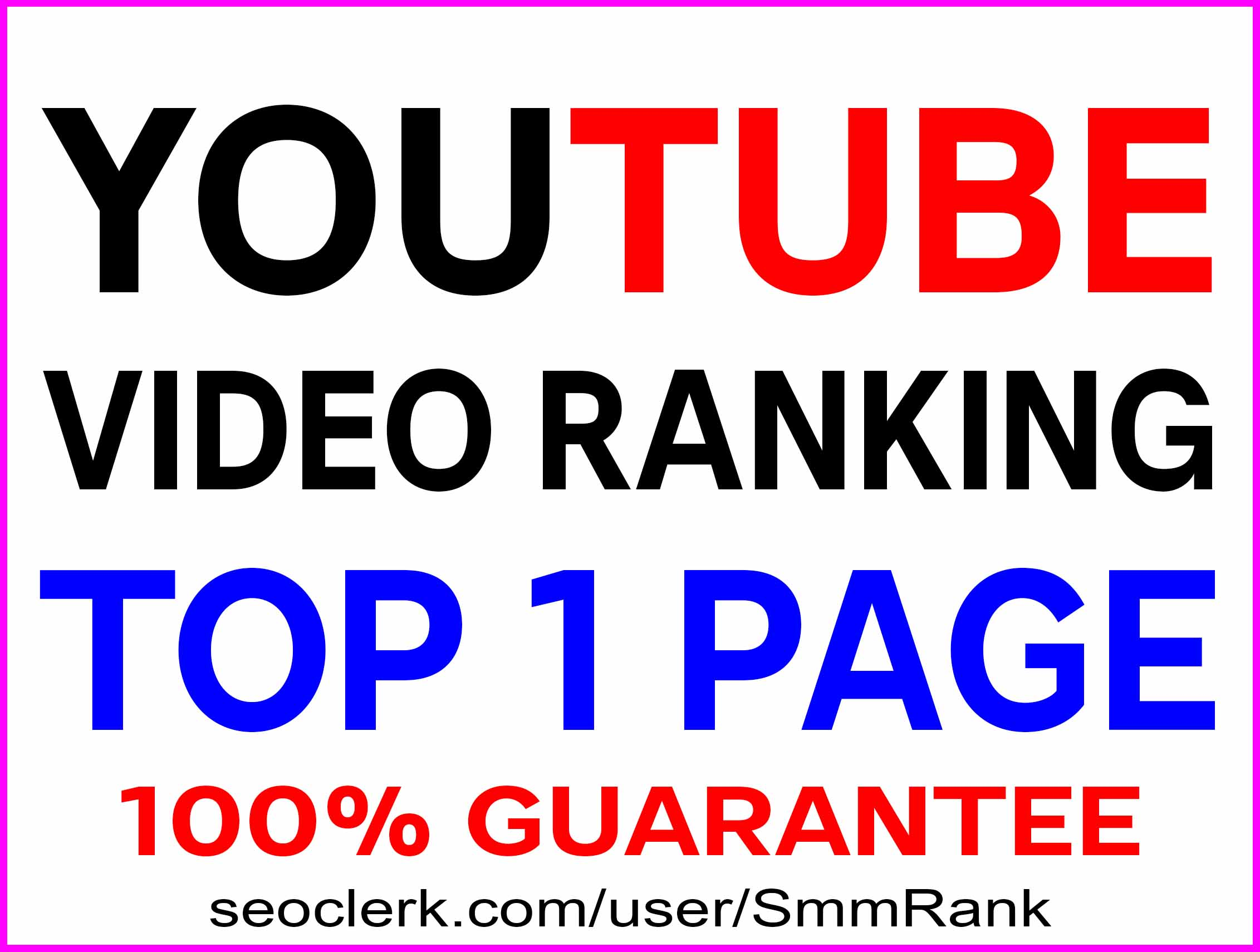 BOOST YOUTUBE VIDEO RANKING TOP 1 PAGE ON YOUTUBE - BEST RESULT 2020