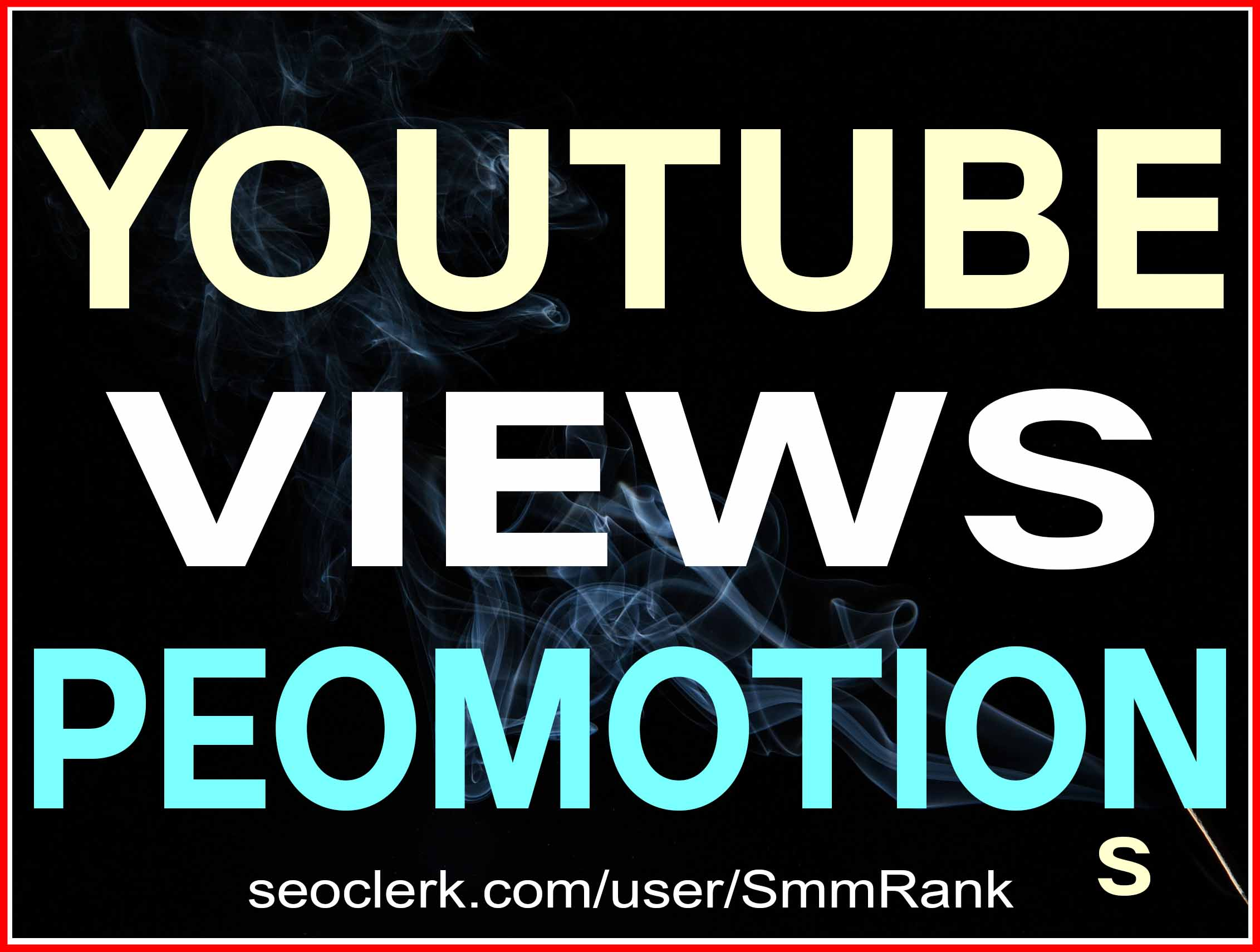 YOUTUBE VIDEO PROMOTION NON DROP AND HIGH QUALITY WITH INSTANT START