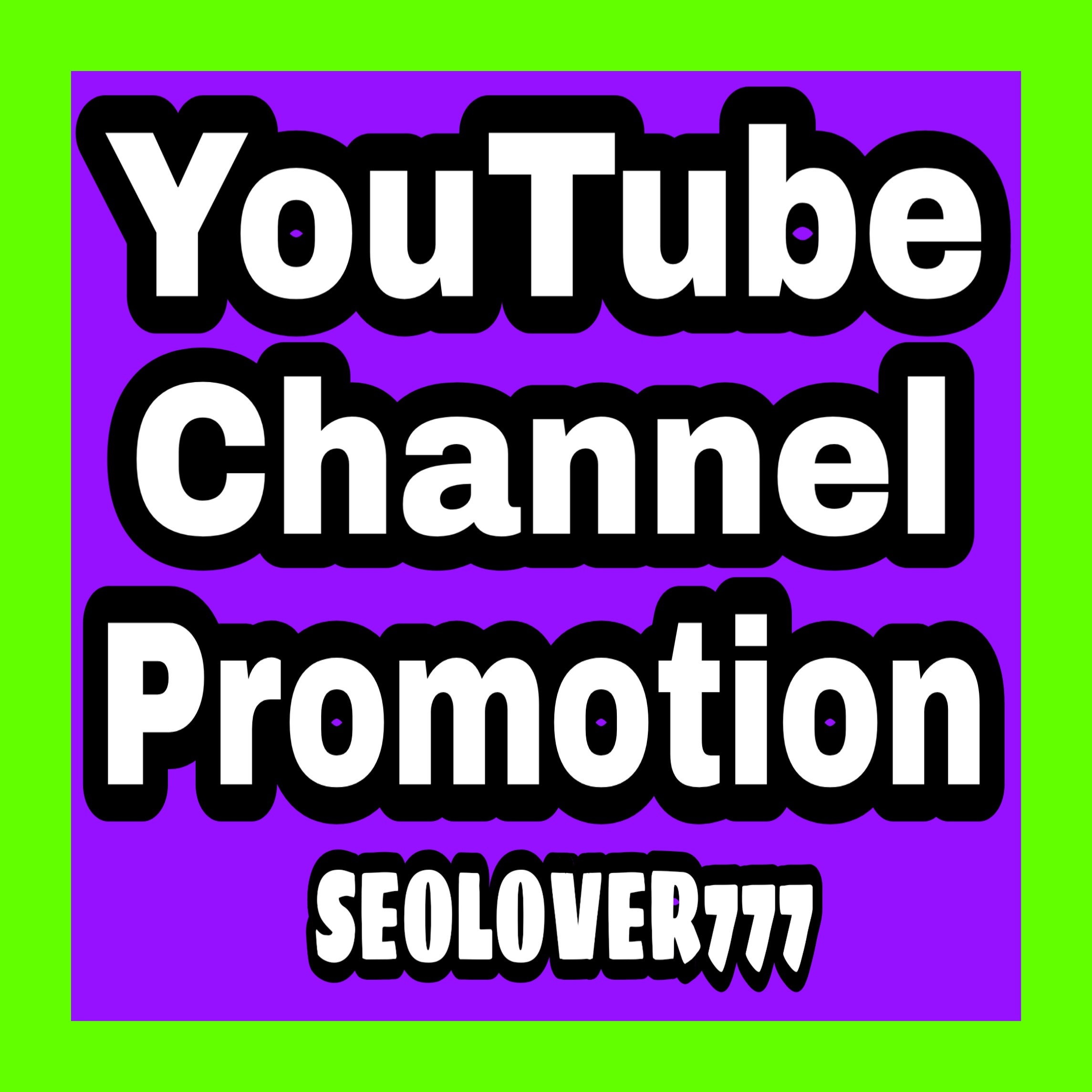 YouTube organic promotion via real users & fast completed