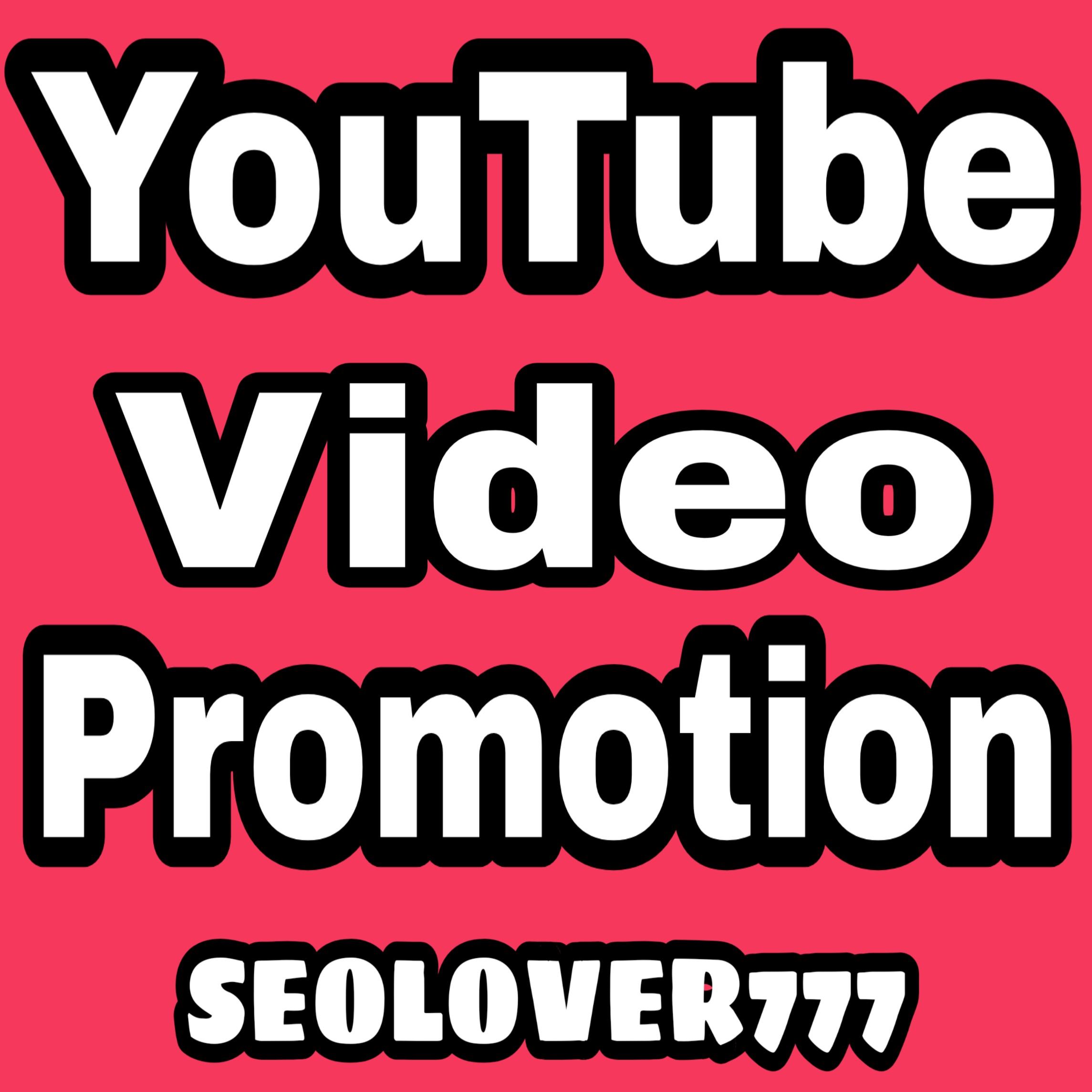 YouTube Organic Video Promotion & Marketing via real users only