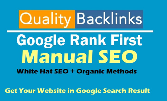30 days manual SEO backlinks package for your website
