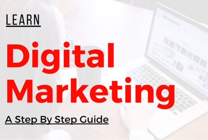 Digital Marketing Beginner to Advanced course