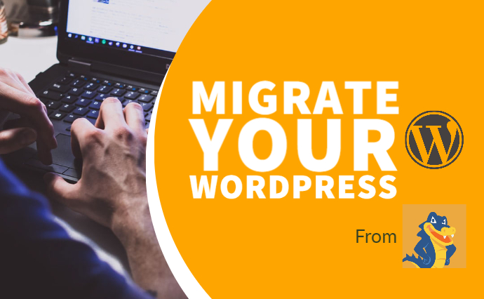 migrate your wordpress website from hostgator to any cloud server