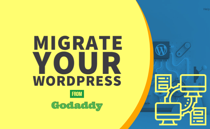 migrate your wordpress from godaddy to any cloud vps dedicated server
