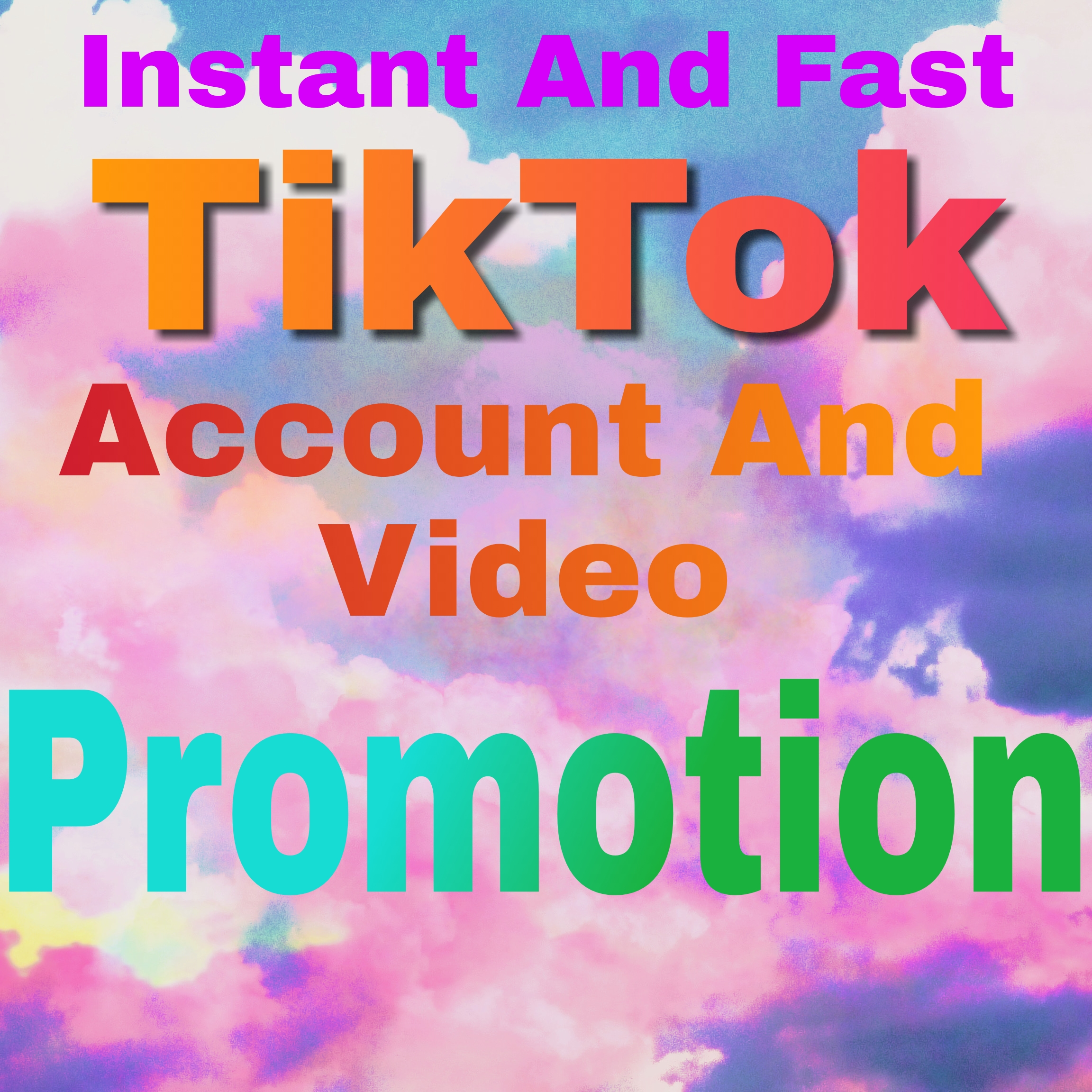 High Quality TikTok Account And Video Promotion By Social Audience
