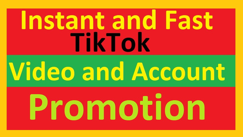 HQ Tik-TOk Account & Video Promootion By Social Marketing