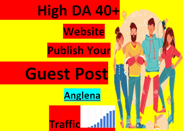 I will publish best high da quality guest post