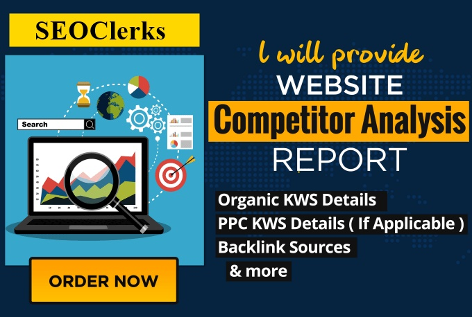 I will perform competitor analysis and provide detail reports