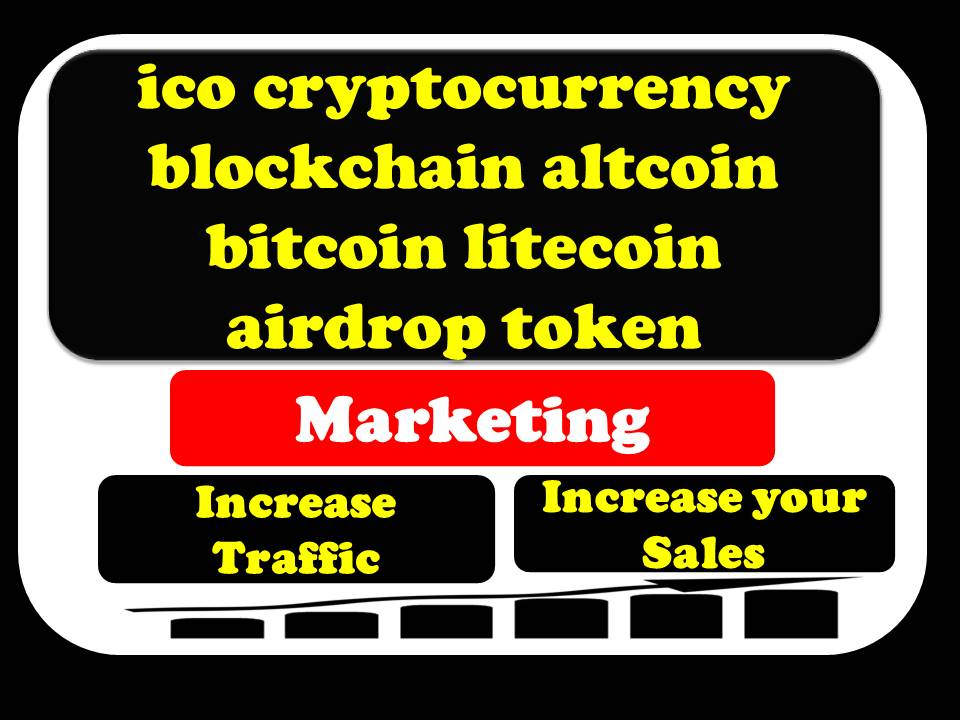 I can promotion & marketing for ico cryptocurrenc...