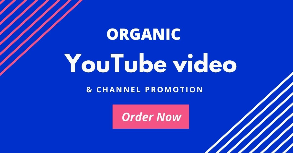 Professionally Do Organic YouTube video promotion with active audience