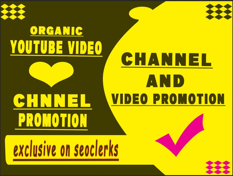 Do The Awesome YouTube Promotion & Marketing Via Social Media Network