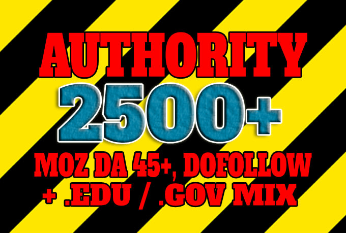 I will do 2500 links to boost your site authority and seo weight
