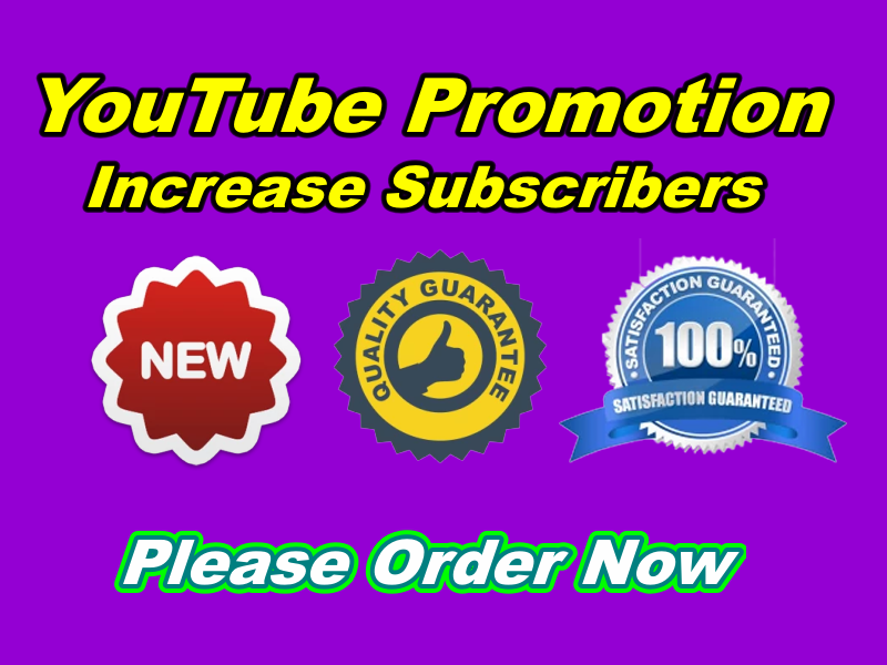 Outstanding Real Permanent YouTube Promotion Manually
