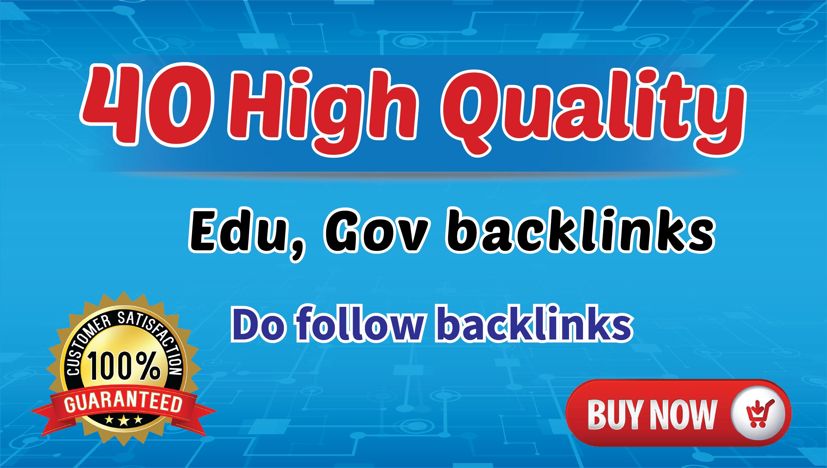 EDU GOV HIgh Quality 40 DO FOLLOW Blog Comments