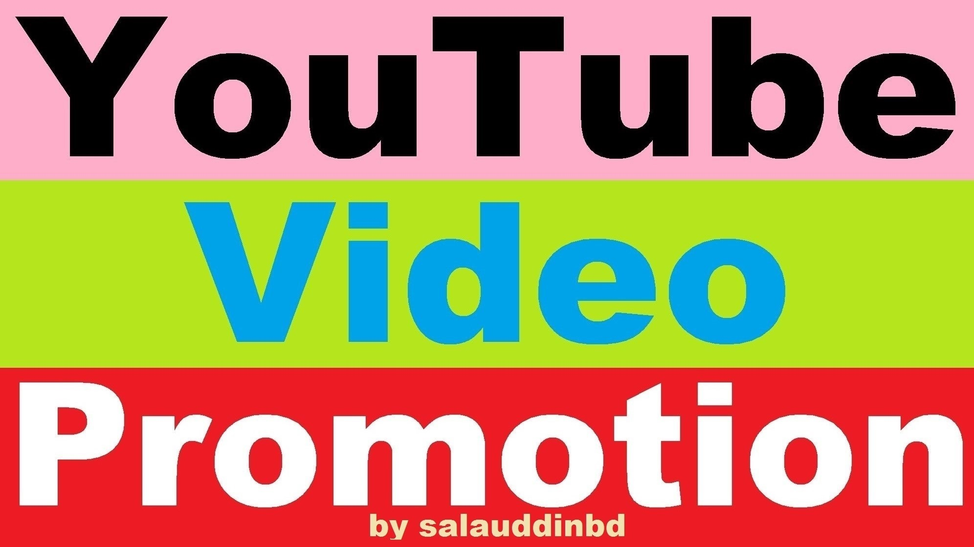 Get YouTube High Quality Video and Social Media Promotion Marketing