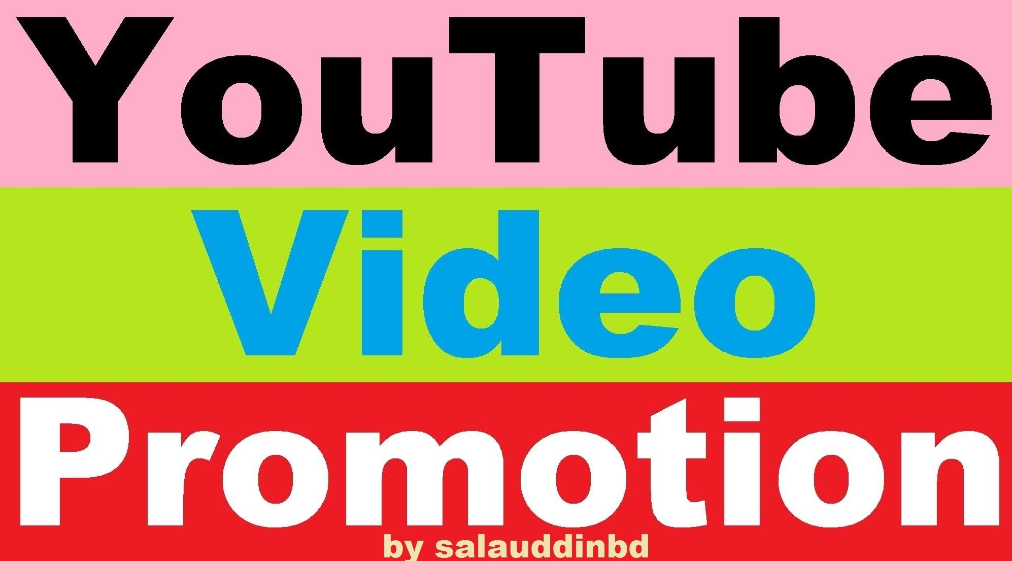 Safe Add YouTube High Quality Video Promotion Marketing