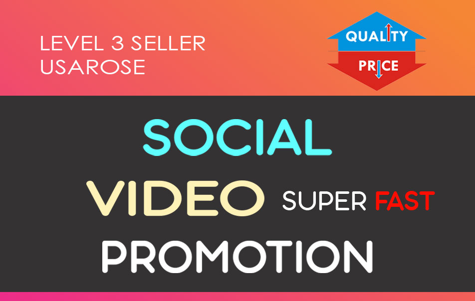 Social Video Boost,  High Quality and Long Lasting Service
