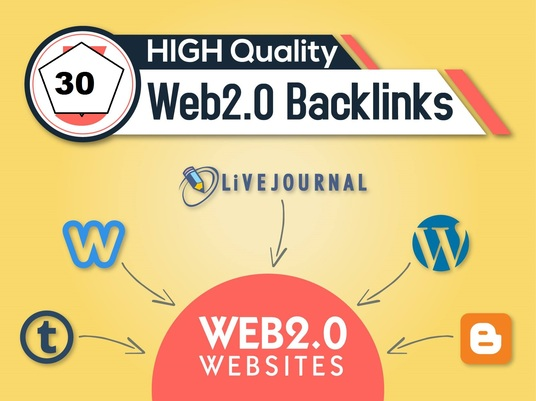 Rank Building - 20 Manual Web 2.0 Backlinks Dofollow high quality permanent link