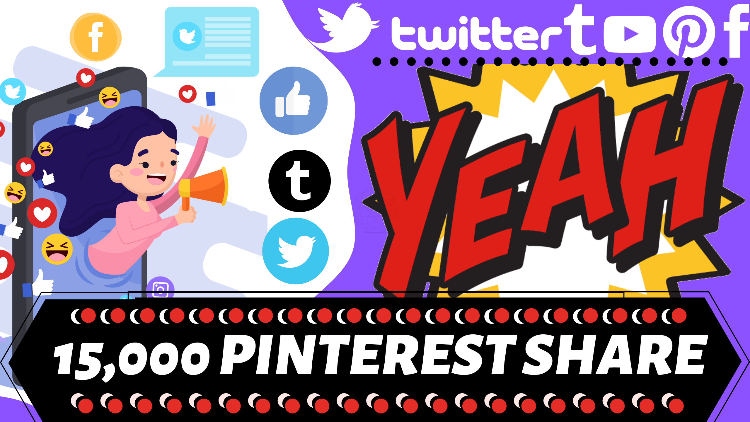 15,000 LifeTime pinterest shares I Boost Your Ranking Now I Best Social Signals service