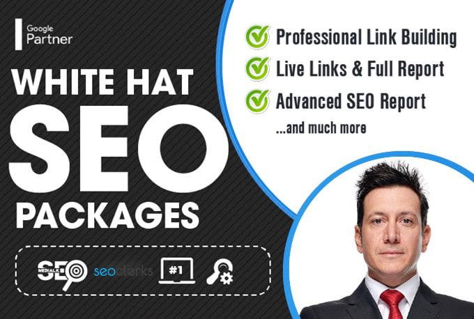 350 white hat SEO backlinks for google top ranking