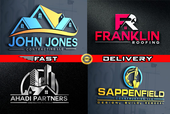 Design Business,  Construction,  Real Estate Logo Design