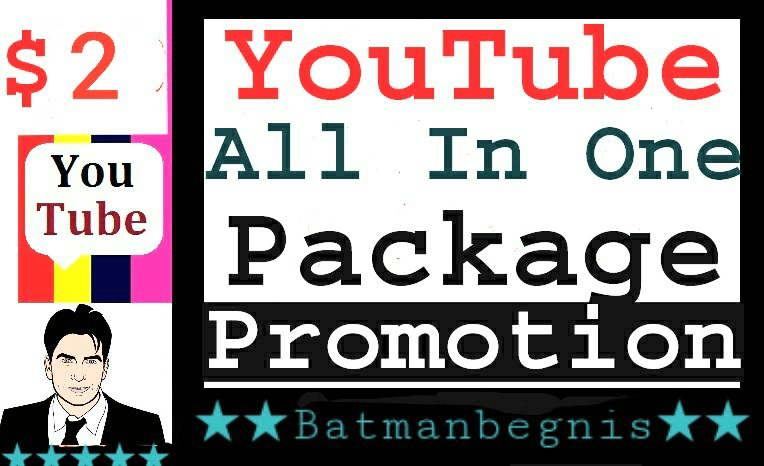 YouTube Promotion Complete Package All In One Service