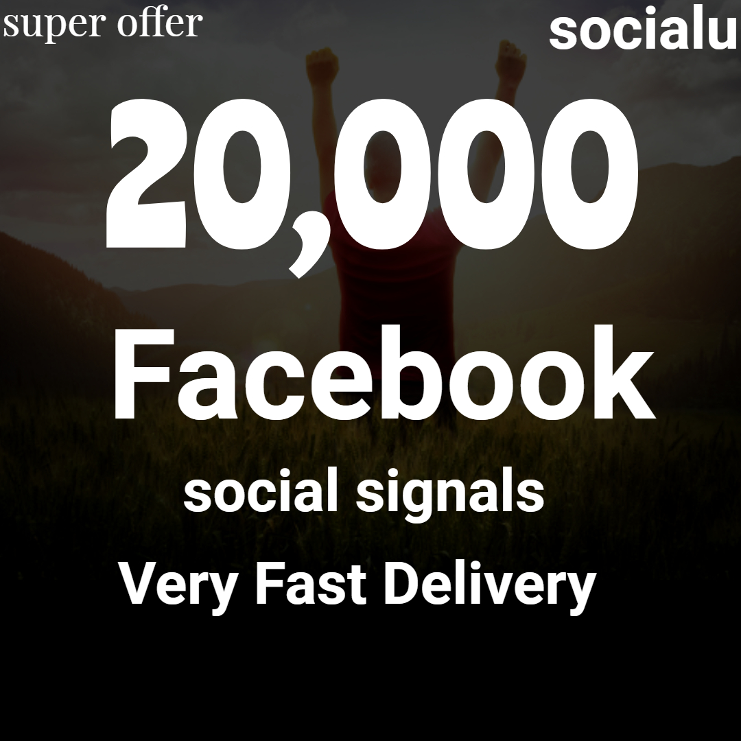 TOP No1 Social Media Best 20,000 SOCIAL SIGNALS With NUCLEAR SEO