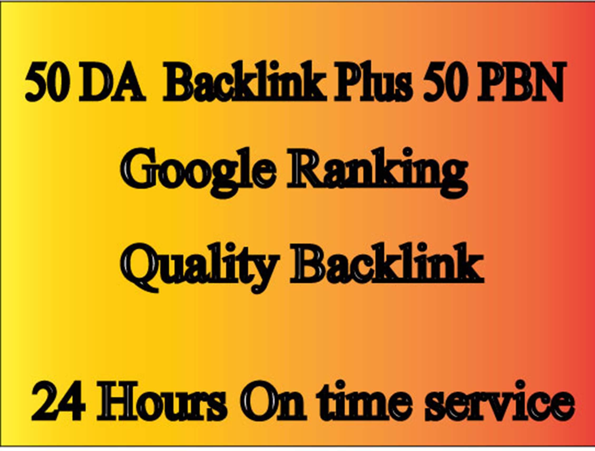Buildup,  All DA50+ High Quality 50 PBN Backlinks,  To website Rank Improving