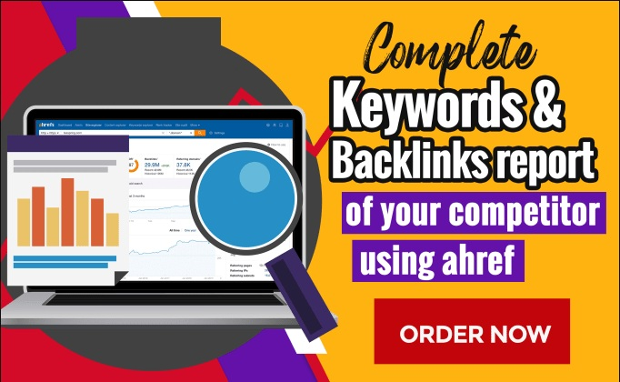 SEO ranking keywords of your 10 competitor websites