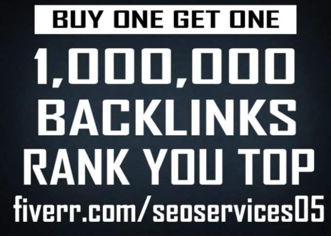 I will 1,000,000 gsa, ser, quality, backlinks for seo