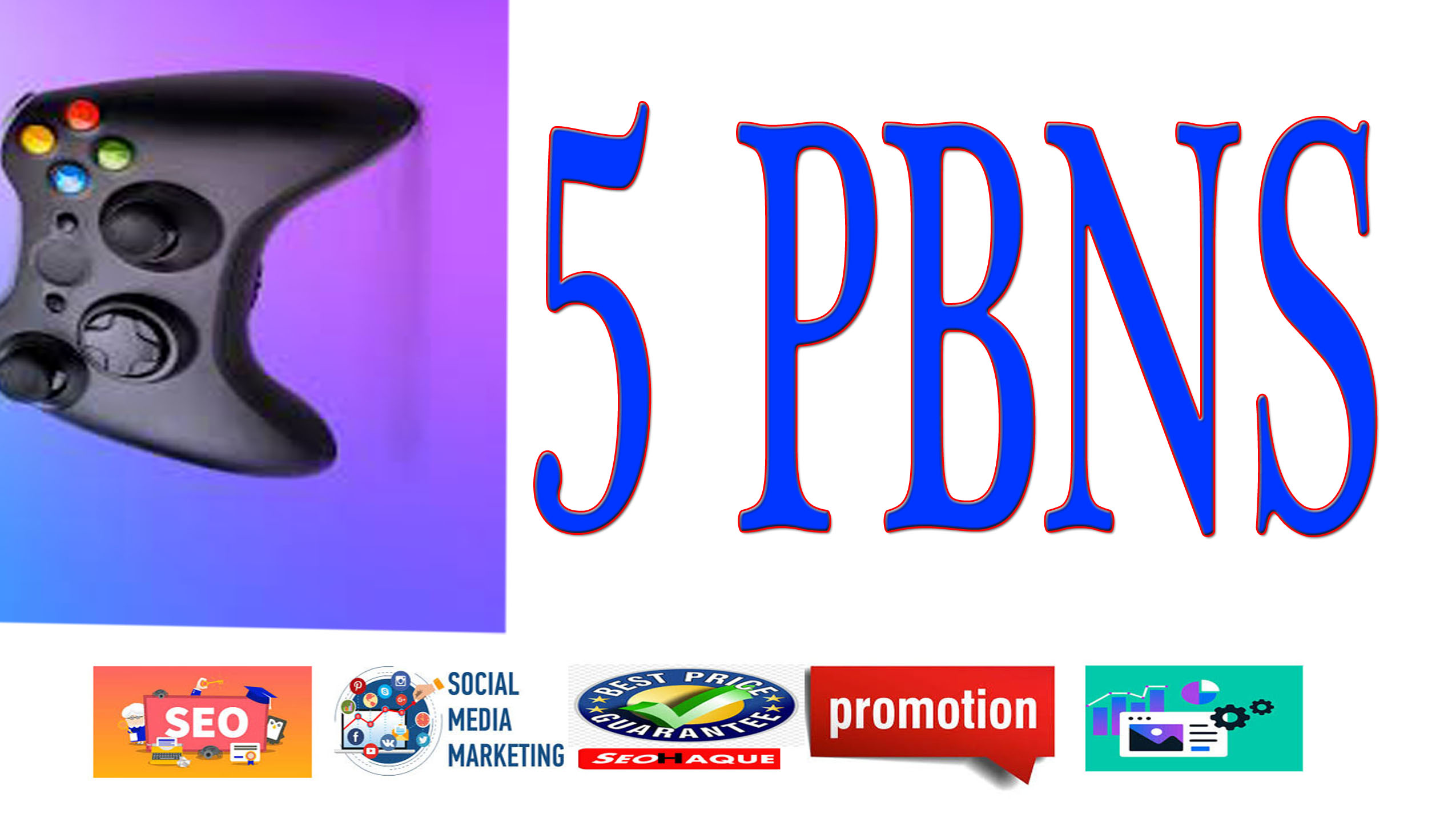 Rank with 5 +High Quality Casino PBNs backlinks