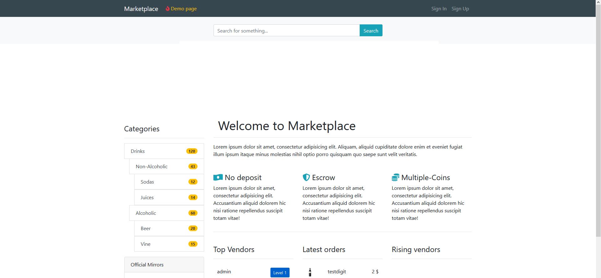 start your Tor Marketplace Script noww