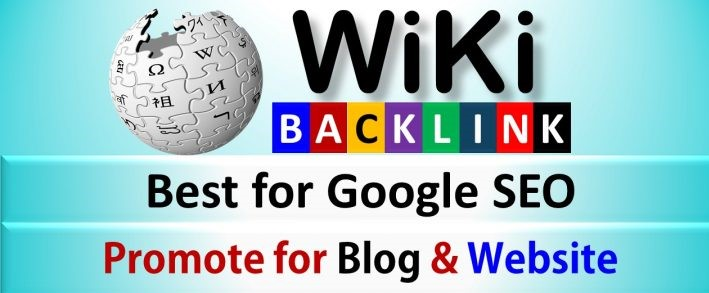 500 Wiki Backlinks mix profiles & articles