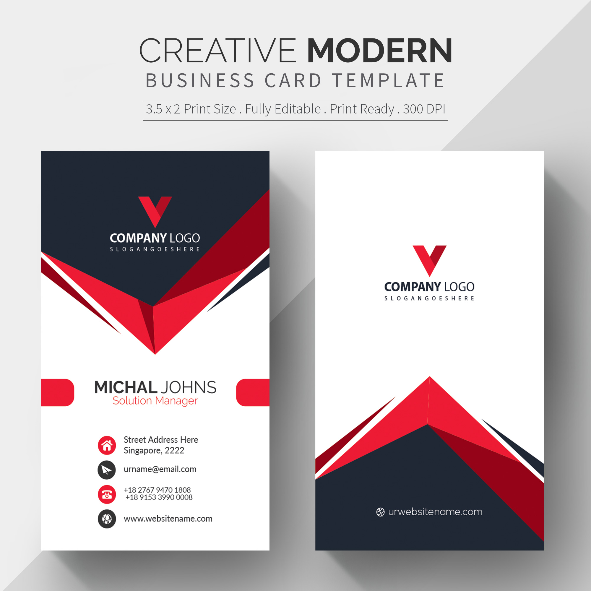 can design a business card and free qr and mock up