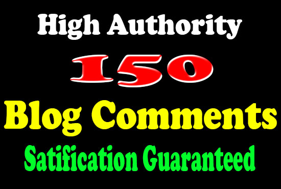 Do 150 blog comments link building SEO service dofollow backlinks