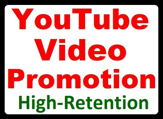 High Retention YouTube Video Promotion from Real Audience Faster