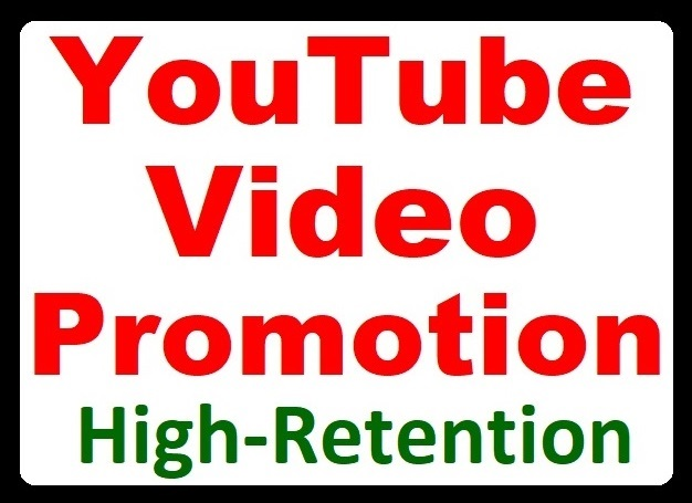 High Retention YouTube Video Promotion and Social Marketing with Audience