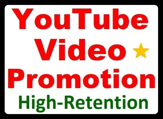 YouTube Video Organic Promotion Standard Marketing